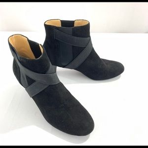 Cole Haan Nike Air Black strappy ankle boots